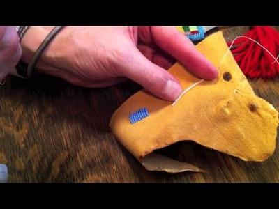 Beading How To - Applique Stitch