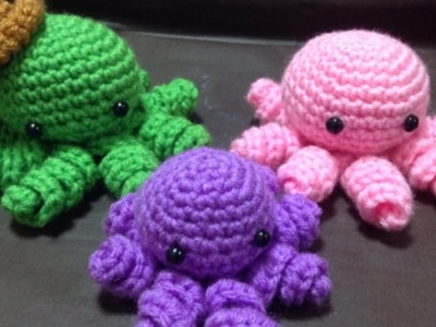 Crochet a Mini Amigurumi Octopus - DIY Crafts - Guidecentral