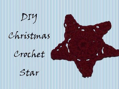 Crochet  Christmas Star -  Stella all'Uncinetto per Natale (ENG SUBS)