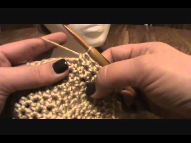 [Crochet Pattern Tutorial] HDC Turban Head Hugger (Video 3)