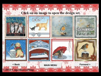 Cupcakecrafting.co.uk Magical Christmas Moments CD ROM
