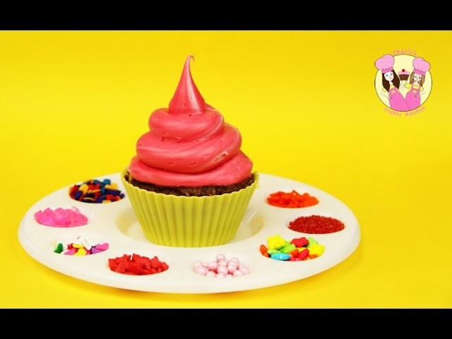 DIY ARTIST PALETTE CUPCAKES - Ashlee takes over the Crafty Kitchen - easy party idea
