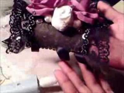 DIY Cuff Bracelet Corsage Tutorial