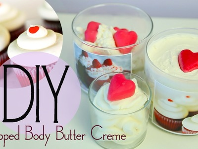 DIY Deep Moisturizing Whipped Body Butter Crème {EASY} by ANNEORSHINE
