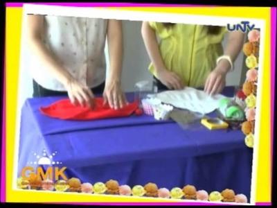 DIY Gift Idea: Towel Cupcake