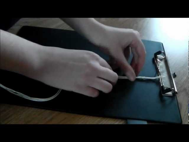 DIY - How To Make A Twist.Rope Friendship Bracelet