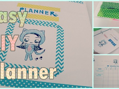 DIY Schedule Planner: Agenda Organizer for Back to School DIY