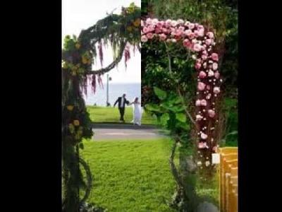 DIY Wedding arch decorating ideas