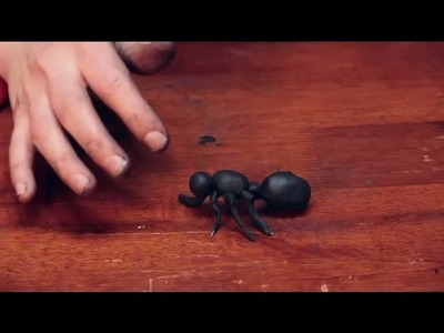 How to Build a Model of an Ant : Sculpting Crafts & More