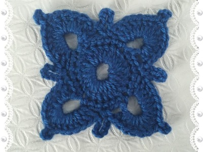 How to Crochet a Motif Pattern #18 │ by ThePatterfamily