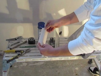 How to Install A Bullnose.Round Corner Bead. .In Depth Tutorial