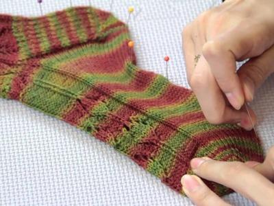 How to Launder Wool Socks : Fiber Arts