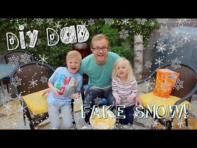 HOW TO MAKE FAKE SNOW | DIY Dad: epoddle