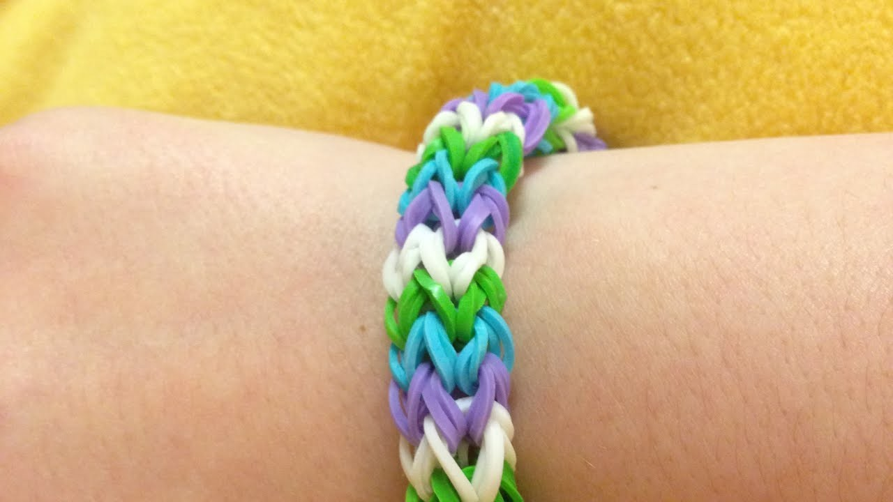 Make a Trendy Rubber Band Bracelet - DIY Crafts - Guidecentral