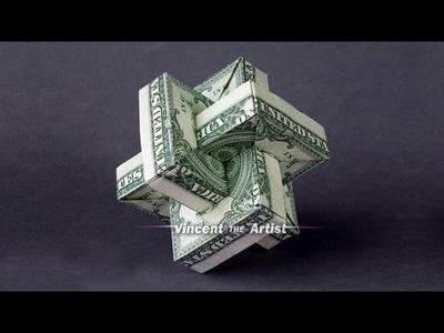 Origami Umulius Rectangulum w. Link to Folding Instructions - Money Origami