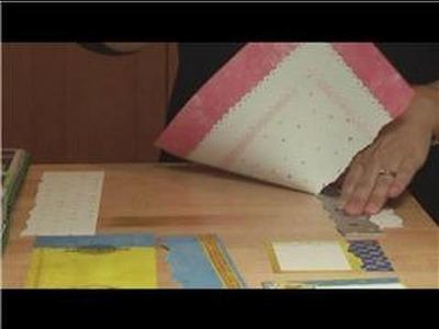 Scrapbooking Ideas : Torn Paper Scrapbooking Techniques