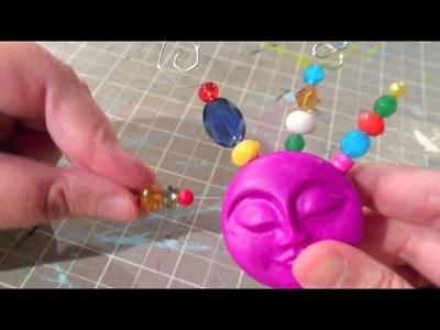 Studio Art Head: Whimsy Polymer Clay Bead Head Tutorial