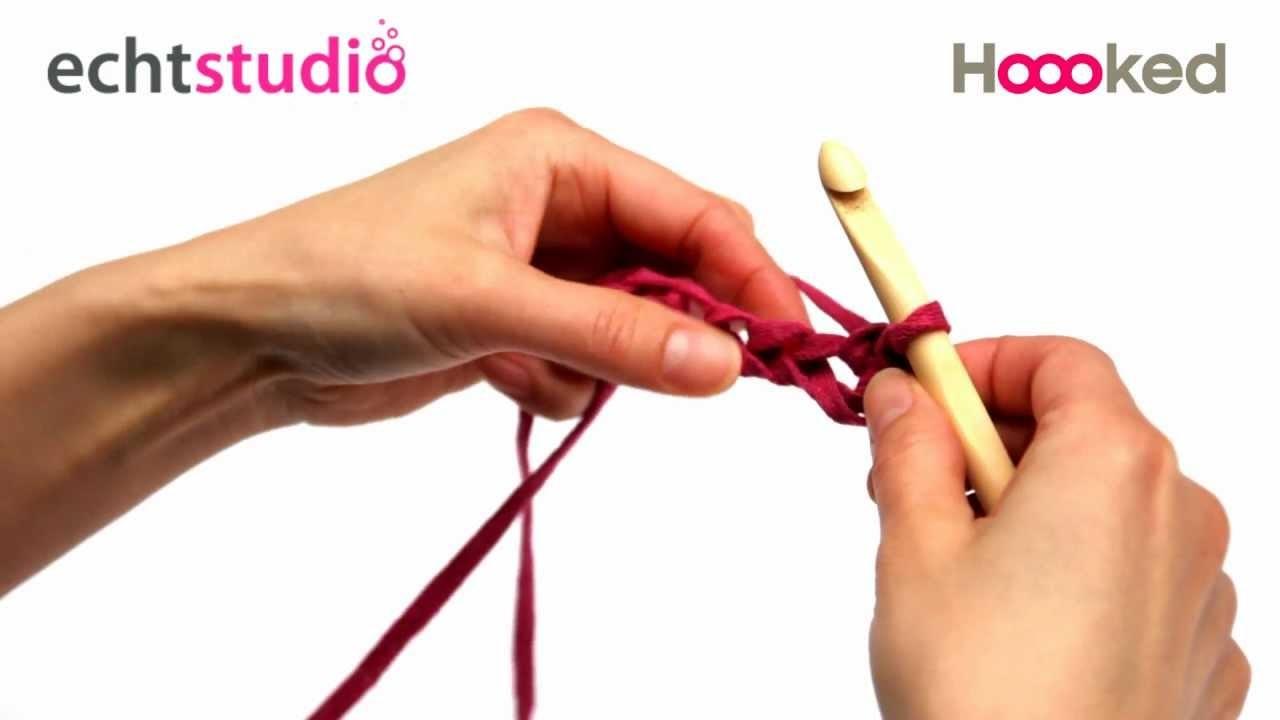 Vaste steek. Double Crochet (UK). Feste Maschen