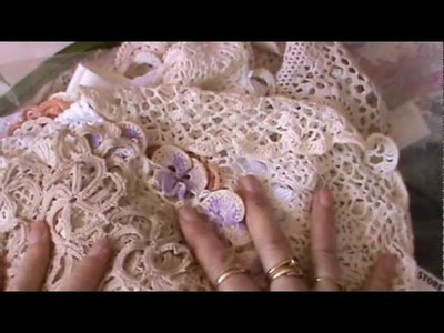 Vintage Crochet Doilies and Thrift Shop Finds