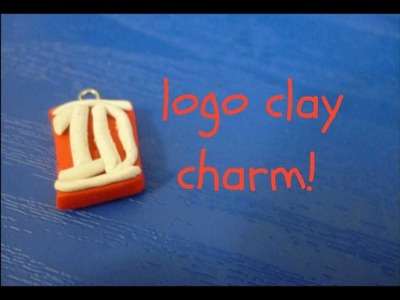 6.7 Days of One Direction Infection Crafts! (1D logo clay charm)