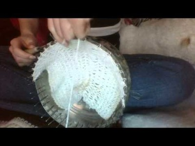 Basic Loom Knitting Stitch