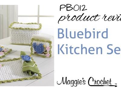 Bluebird Kitchen Crochet Pattern Set Product Review PB012