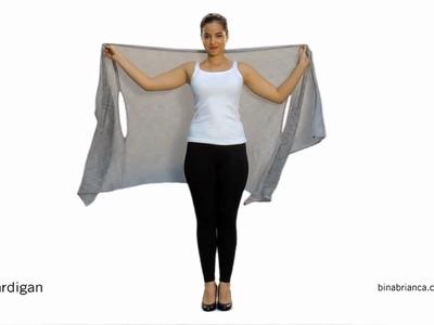 Cardigan Sweater - How to Make The Bina a Cardigan