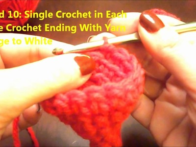 Crochet a Fashion Doll or Xmas Tree Santa Hat
