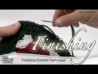 Crochet & Knitting Finishing Technique