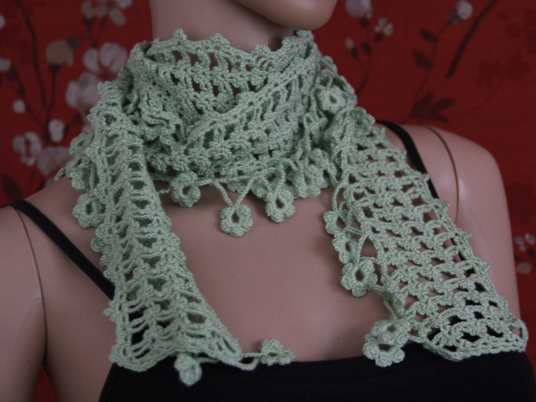 Crochet Scarf Tutorial Part 4 of 4 (Pattern #4)