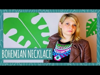 DIY Bohemian Necklace - HGTV Handmade