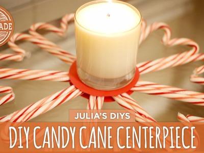 DIY Candy Cane Centerpiece - HGTV Handmade