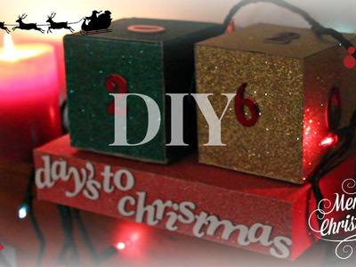 DIY: Christmas Advent Calendar Cubes