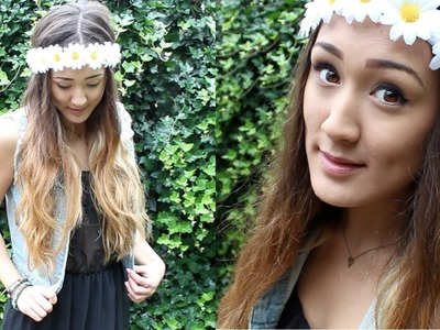 DIY: Daisy Flower Crown