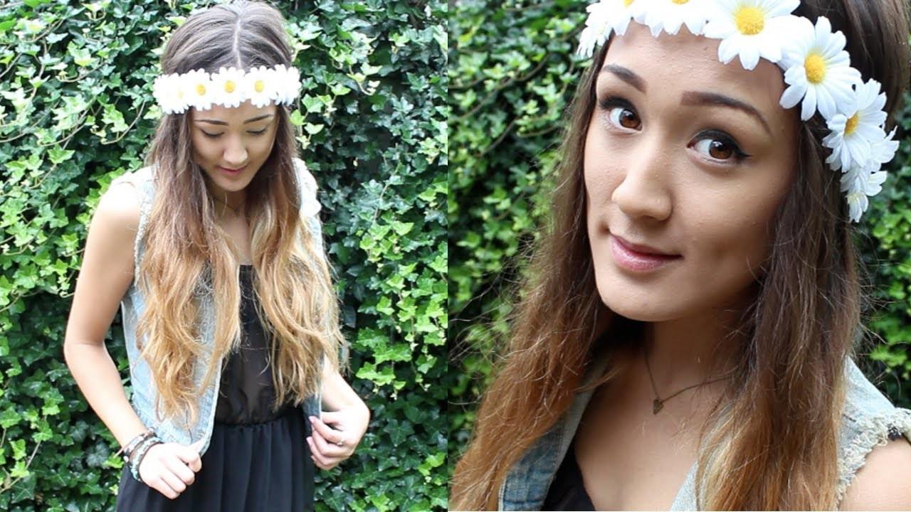 DIY: Daisy Flower Crown
