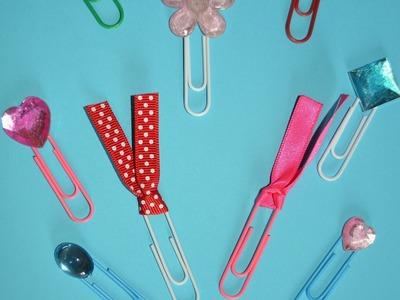 DIY Decorando Clips (DIY Fashion Paper Clips) #Back2School