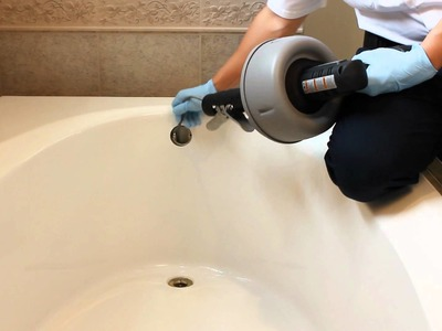 DIY: How to Unclog the bathroom tub in your home.