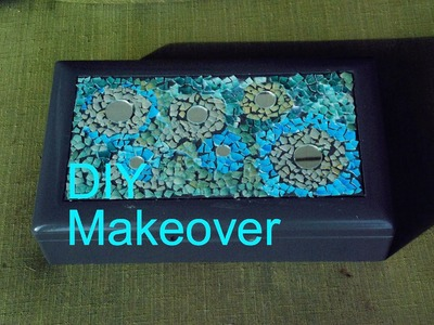 DIY JEWELRY Box and Makeup Storage Decoration Idea