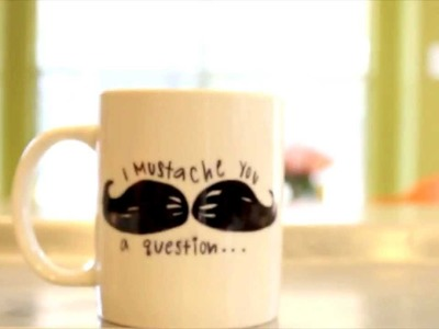 DIY Mug Design Tutorial