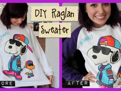 DIY Raglan Sweater!
