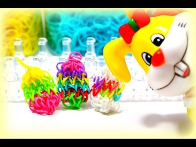 DIY Rainbow Loom Bands Osterei Easter Egg Loom Bänder | Tutorial deutsch