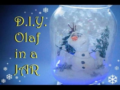Do you want to build a SNOWMAN? DIY OLAF! | Liana