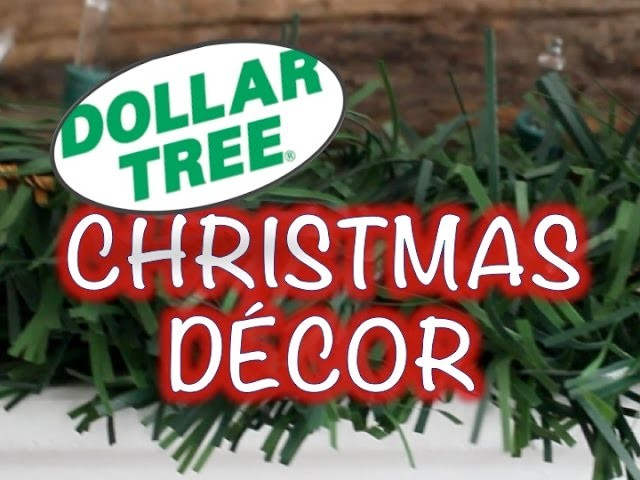 DOLLAR TREÉ CHIC CHRISTMAS DECORATIONS! | DIY