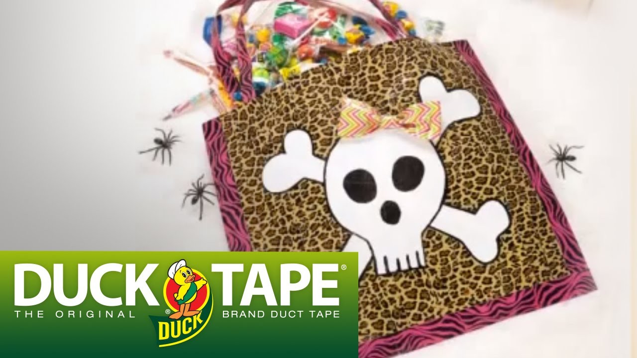 Duck Tape Halloween Crafts: How to Make a Trick or Treat Bag