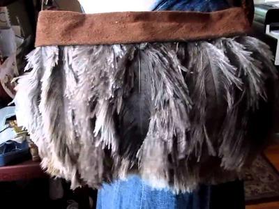Feather Clutch DIY