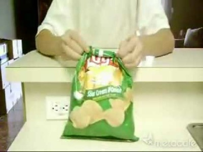 Fermer un paquet de chips