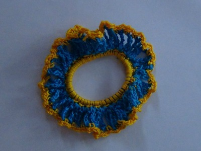 How to Crochet a Hair Scrunchy