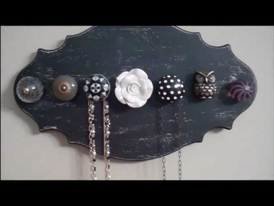 How to: DIY Knob Necklace Holder
