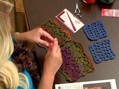How to do a Gauge Swatch for Crochet from Red Heart