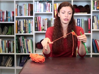 How to Knit a Potato Chip Scarf : Knitting Tips & Techniques